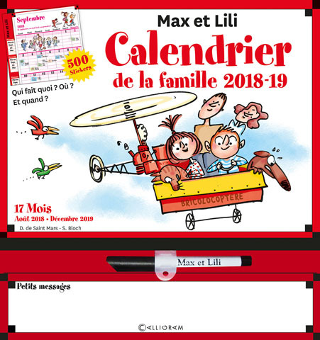 CALENDRIER DE LA FAMILLE 2018-2019