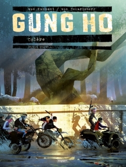 GUNG HO TOME 4.1 - GRAND FORMAT - COLERE