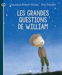 LES GRANDES QUESTIONS DE WILLIAM