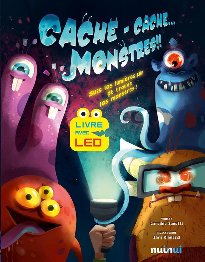 CACHE CACHE... MONSTRES !!