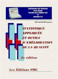 STATISTIQUE APPLIQUEE ET OUTILS D'AMELIORATION DE LA QUALITE (TRAITEMENT DE DONNEES EXCEL VERSION 8.
