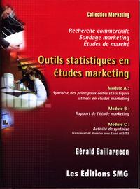 OUTILS STATISTIQUES EN ETUDES MARKETING. TRAITEMENT DE DONNEES AVEC EXCEL & SPSS. RECHERCHE COMMERCI
