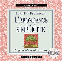 L'ABONDANCE DANS LA SIMPLICITE CD