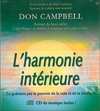 HARMONIE INTERIEURE (CD INCLUS)