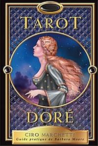 TAROT DORE - GUIDE PRATIQUE (LIVRE + 78 CARTES)
