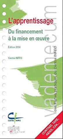 VADEMECUM DE L'APPRENTISSAGE 2E EDT
