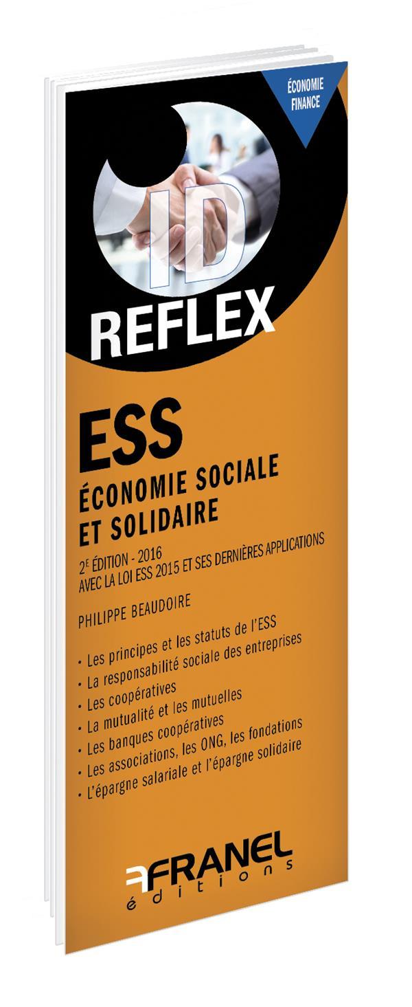 ID REFLEX ECONOMIE SOCIALE ET SOLIDAIRE REPLACER L'HUMAIN AU CTRE PREOCCUPATIO