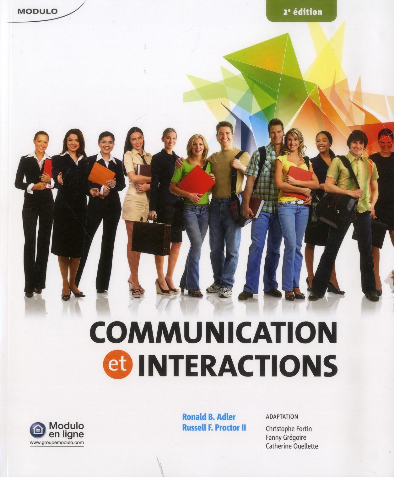 COMMUNICATIONS ET INTERACTIONS 2  ED