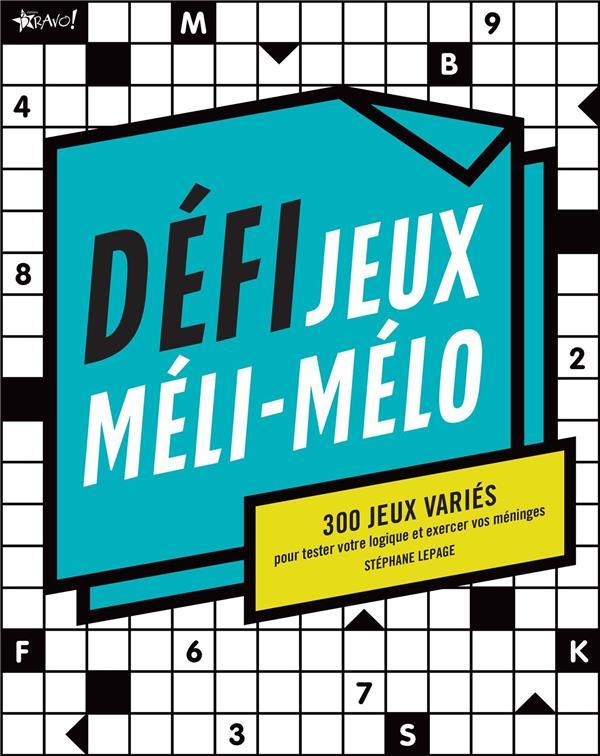 DEFI JEUX MELI-MELO