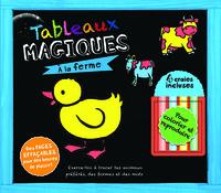 A LA FERME DES ANIMAUX - TABLEAUX MAGIQUES