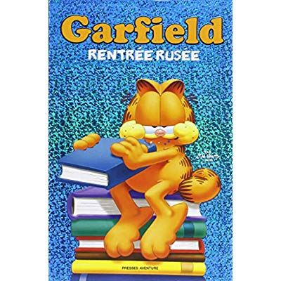 GARFIELD - BD THEMATIQUE - RENTREE RUSEE