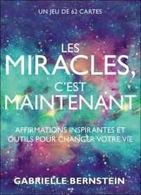 LES MIRACLES C'EST MAINTENANT - AFFIRMATIONS INSPIRANTES ET OUTILS POUR CHANGER VOTRE VIE - COFFRET