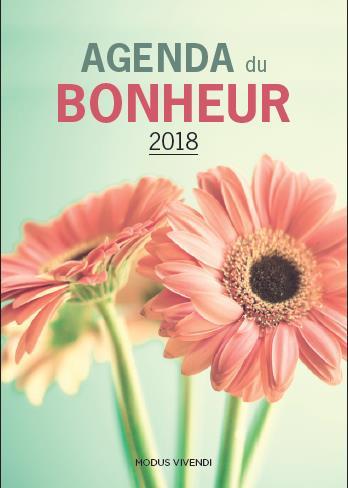 AGENDA DU BONHEUR 2018