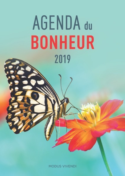 AGENDA DU BONHEUR 2019