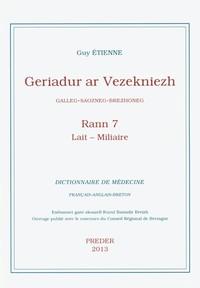 GERIADUR AR VEZEKNIEZH TOME 7