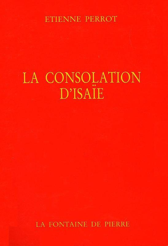 LA CONSOLATION D'ISAIE