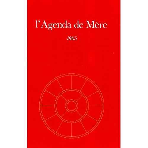 AGENDA DE MERE - TOME 6 - 1965