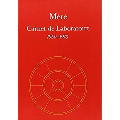 CARNET DE LABORATOIRE -1950 1973
