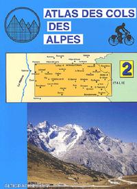 ATLAS COLS DES ALPES TOME 2 BARCELONE BRIANCON GALIBIER