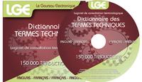 LE GOURSAU ELECTRONIQUE DES TERMES TECHNIQUES FRANCAIS/ANGLAIS - ANGLAIS/FRANCAIS