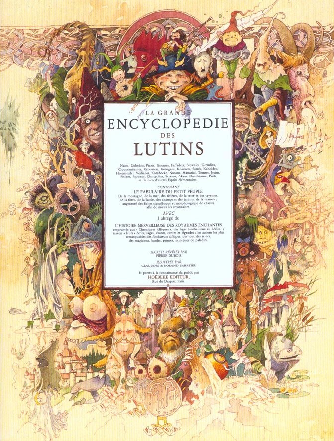 LA GRANDE ENCYCLOPEDIE DES LUTINS