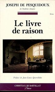 LIVRE DE RAISON