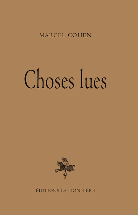 CHOSES LUES