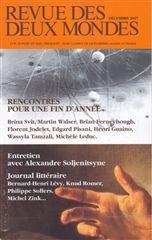 REVUE DES DEUX MONDES 12/2007