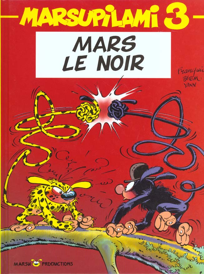 MARSUPILAMI T3 MARS LE NOIR