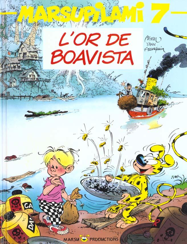 MARSUPILAMI T7 L'OR DE BOAVISTA