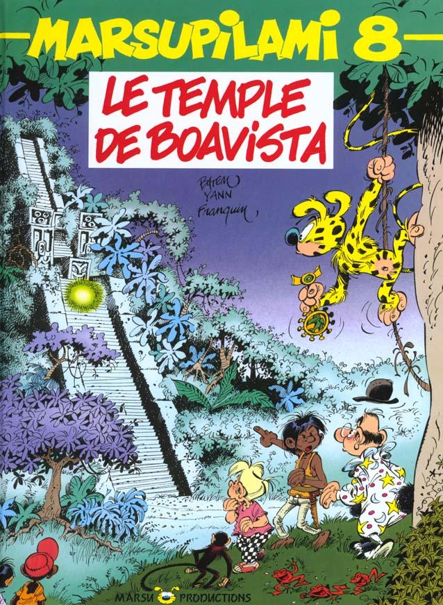 MARSUPILAMI T8 LE TEMPLE DE BOAVISTA
