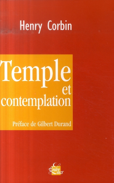TEMPLE ET CONTEMPLATION