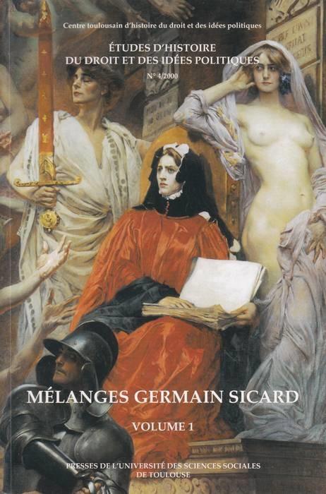 MELANGES GERMAIN SICARD . 2 TOMES