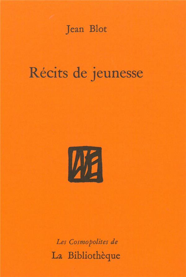 RECITS DE JEUNESSE