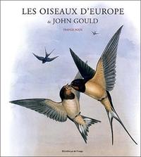 OISEAUX D'EUROPE DE JOHN GOULD
