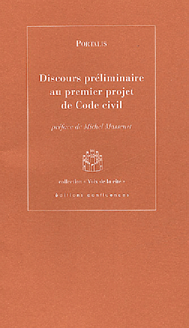 DISCOURS PRELIMINAIRE AU 1ER PROJET DE C