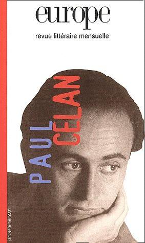 EUROPE PAUL CELAN N? 861 862