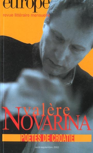 EUROPE VALERE NOVARINA N880-881