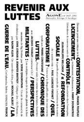 AGONE 26 / 27-2002 REVENIR AUX LUTTES