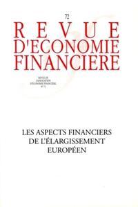 LES ASPECTS FINANCIERS DE L'ELARGISSEMENT EUROPEEN NO72