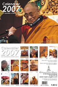 CALENDRIER 2007 DALAI-LAMA