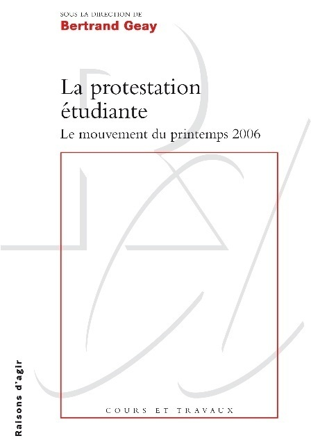 LA PROTESTATION ETUDIANTE