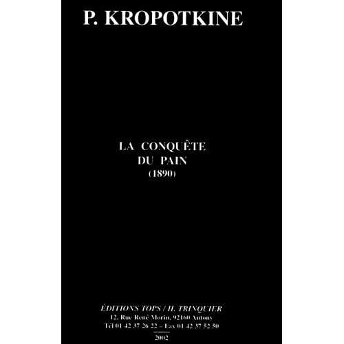 LA CONQUETE DU PAIN (1890)