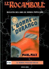 ROCAMBOLE 45/LE ROMAN POLICIER BELGE