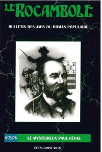 ROCAMBOLE 75-76/LE MYSTERIEUX PAUL FEVAL