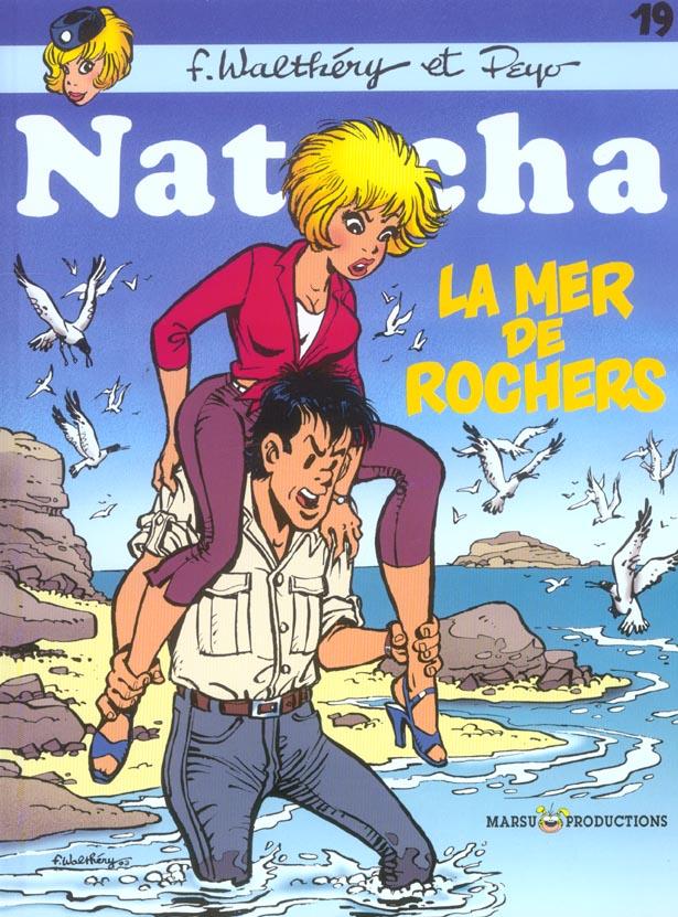 NATACHA HOTESSE DE L'AIR T19 LA MER DES ROCHERS