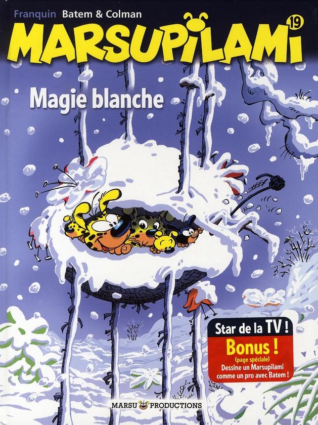 MARSUPILAMI T19 MAGIE BLANCHE