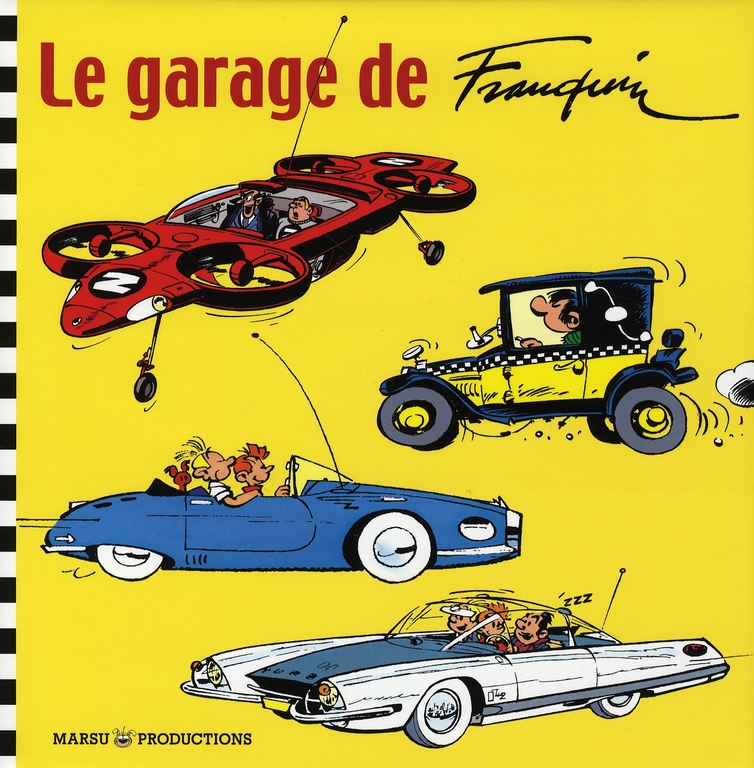 DIVERS BEAUX LIVRES LE GARAGE DE FRANQUIN