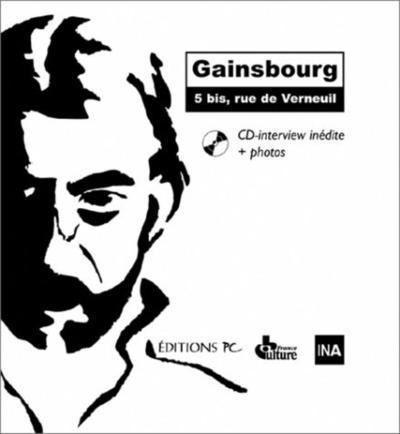 GAINSBOURG 5 BIS RUE DE VERNEUIL CD INTERVIEW INEDITE ET PHOTOS