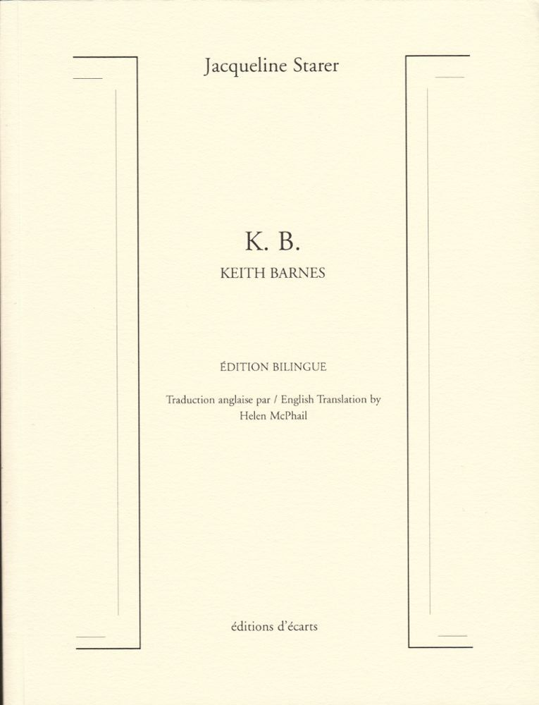 K. B. KEITH BARNES EDITION BILINGUE